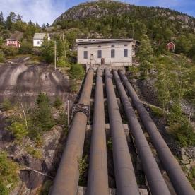 Lilletopp 2017. (Foto Dag Endre Opedal, Norsk Vasskraft- og Industristadmuseum)