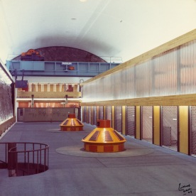 Maskinhallen i Tysso II i 1969. (Norsk Vasskraft- og Industristadmuseum sitt arkiv)